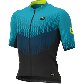 Alé Cycling Graphics PRR Delta Jersey Korte Mouwen Heren, black/petrol/turquoise